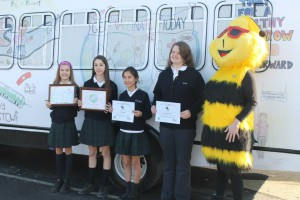 students and bee