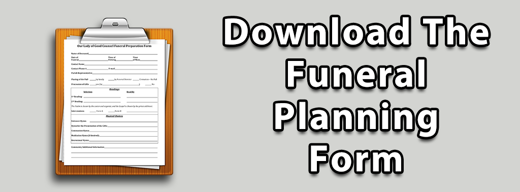 Download The Funeral Planning Form